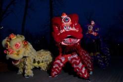 jing wo lion dance calgary 2016 earth hour st. patrick's island night photography