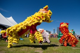 jing wo lion dance calgary 2016 chinese canada day #canadadayyc