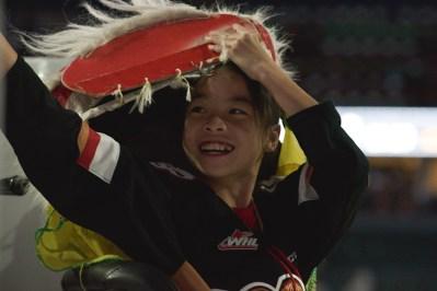 jing wo lion dance calgary 2017 chinese new year saddledome hitmen hockey