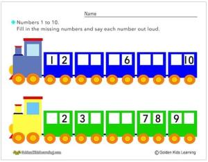 Number train 3