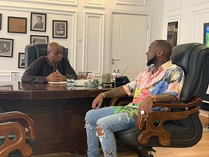 Davido's Meeting With Gbajabiamila