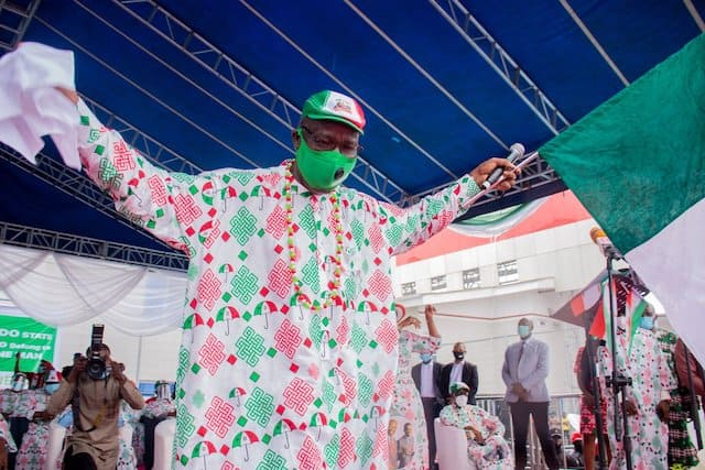 Edo 2020: INEC Officially Declares Godwin Obaseki Winner