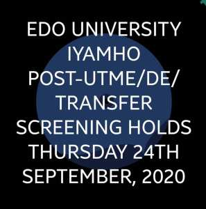 Admission into Nigerian Universities in the 2020/2021 Academic Session