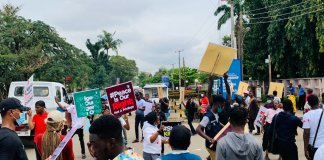 Thugs Attack #EndSARS Protesters In Edo