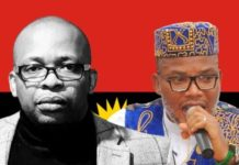 Uche Mefor has dumped the IPOB and Nnamdi Kanu