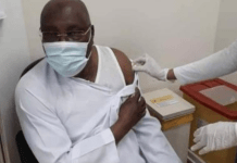Atiku receives second dose of COVID-19 vaccine