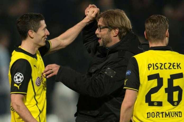 Lewandowski Credits Ex-Borussia Dortmund Coach Jurgen Klopp