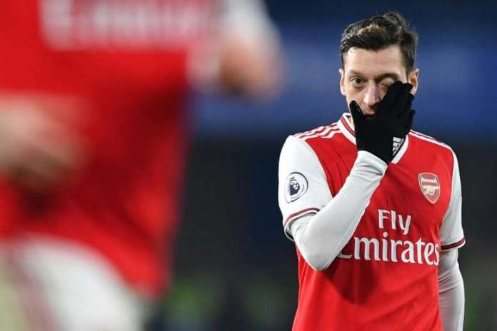 Mesut Ozil Has Been Frozen Out At Arsenal