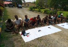 Police parades suspected criminals, impound arms in Cross River