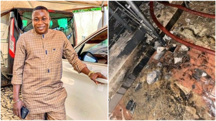 Over N50 Million Worth Of Property Lost To Inferno – Sunday Igboho