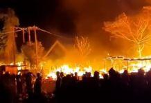 Fire Razes Gwarimpa Tipper Market (Video)