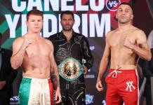 Canelo Alvarez vs. Avni Yildirim fight results : see all undercard results
