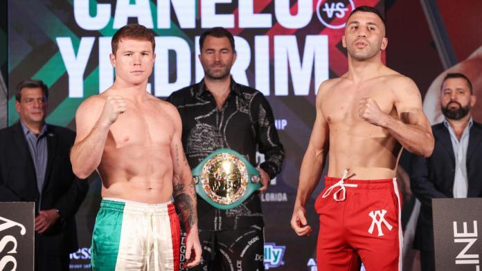 Canelo Alvarez vs. Avni Yildirim fight results : see all undercard results