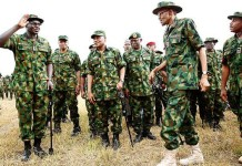 Full List of Nigerian Army Ranks and Monthly Salaries 2021