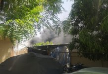 Breaking : INEC Data Centre On Fire (Video)