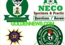 FG Fixes Dates for WAEC, NECO & NABTEB 2021 Exams