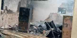 Just In : Again Fire Razes INEC Office