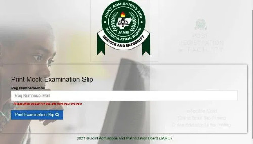 Jamb Mock 2021 Commence, Print Out Mock Exam Centre Here.
