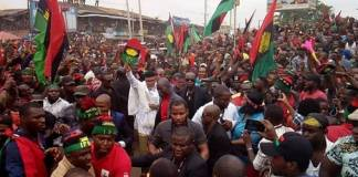 Police Clash With IPOB Members