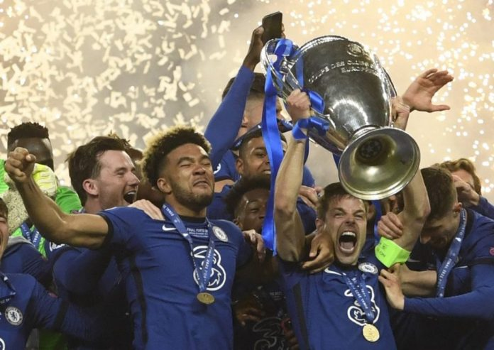 CHAMPIONS OF EUROPE : Chelsea beat Man City to win Champions League 2021