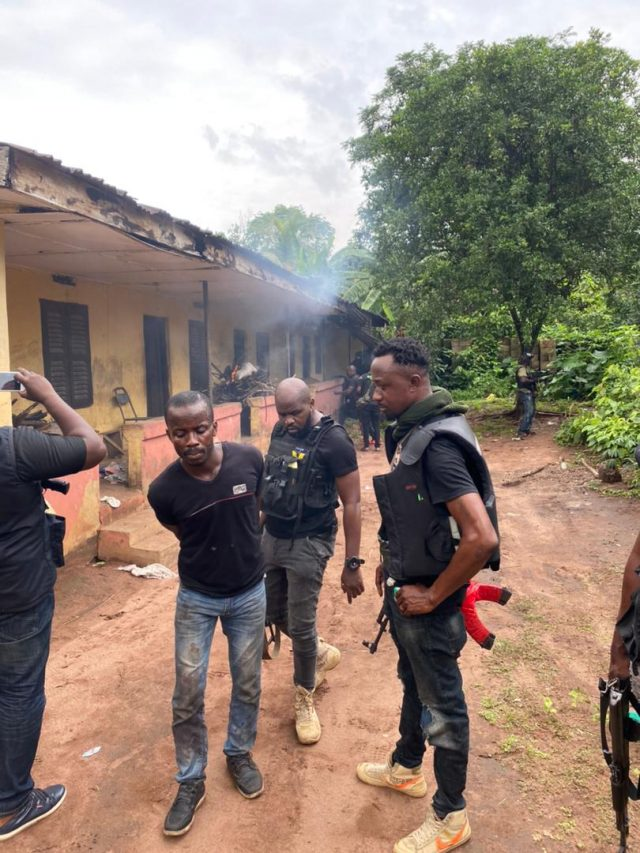 Just In : ESN camp in Imo Under Attack (Photos)