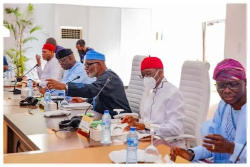 Details of meeting between the southern states governors in Lagos today July 5 Emerges