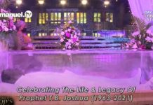Live Stream Of Prophet TB Joshua Lying In State Here