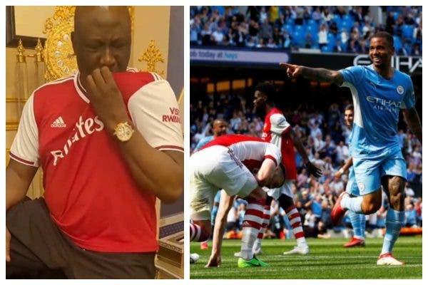 Dino Melaye fires hot prayers against Arsenal coach