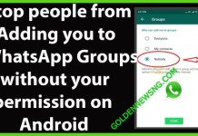 How to Stop Anyone From Adding You to WhatsApp Groups