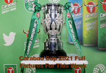 Carabao Cup Fixtures For This Week (Full List)