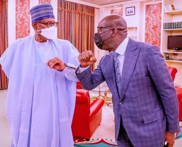 Obaseki Speaks On Returning To APC After Meeting Buhari