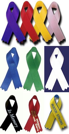 awareness ribbons golden openings