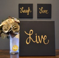 Black And Gold Wall Decor Alluring Best 25 Black Gold ...