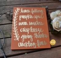 Thanksgiving Fall Decor Sign