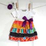 Ruffle Dress from Sumo's Sweet Stuff