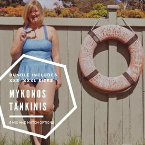 mykonos tankini bundle