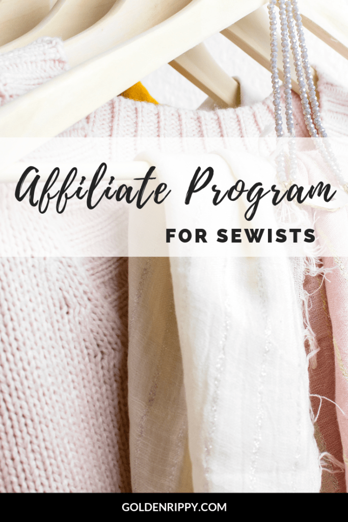 affiliate program for sewists