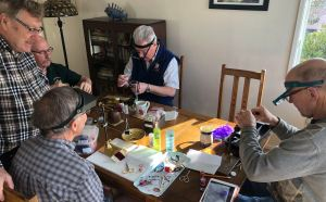WINTER FLYTIE: Meetup @ Colin Chadwick's House | Victoria | British Columbia | Canada