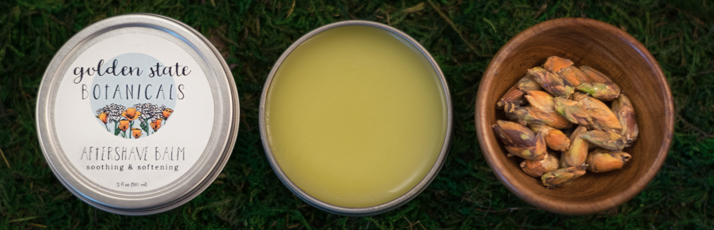 Golden State Botanicals all-natural aftershave balm