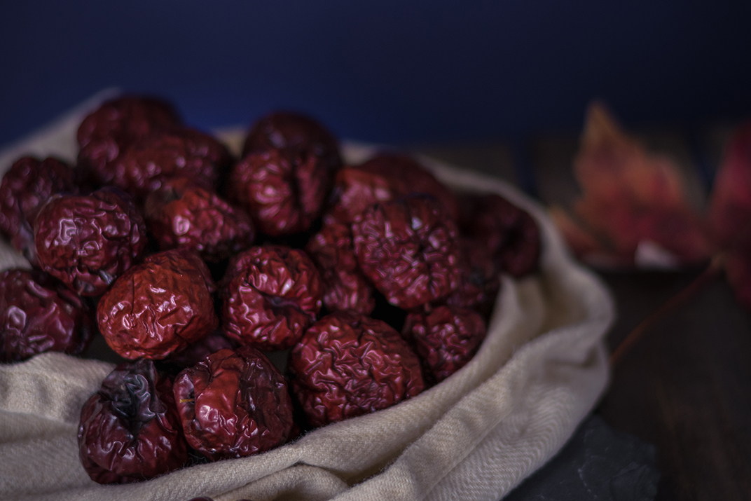 10 creative ways to use Chinese jujube dates in your food! These are fabulous digestive tonics. Who says taking our medicine has to be difficult?! | Herbalist Stephanie McCann at Golden State Botanicals