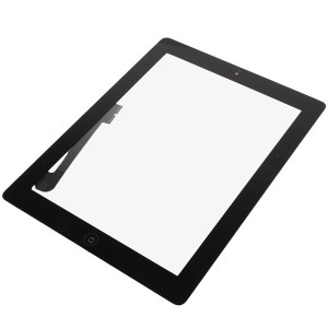iPad 3 / 4 Digitizer Black