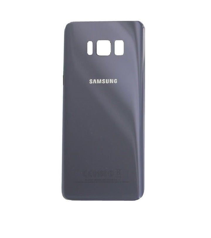 on sale 966ec 86f1a Samsung Galaxy S8 Battery Cover Glass Orchid Grey - goldentech.ie