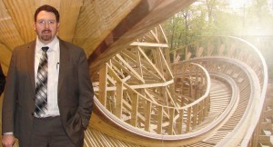 Jeff Pike has enjoyed much success as a designer with Great Coasters International, creating top-ranked wooden roller coasters for many age groups to enjoy. AT FILE