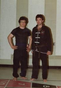Si Gung With Sifu Robin Young - April 21, 1982