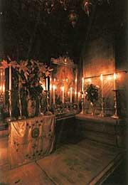 В храме Гроба Господня. Иерусалим. Фото Аванта+