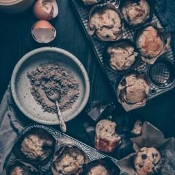 Cardamom Banana Muffins