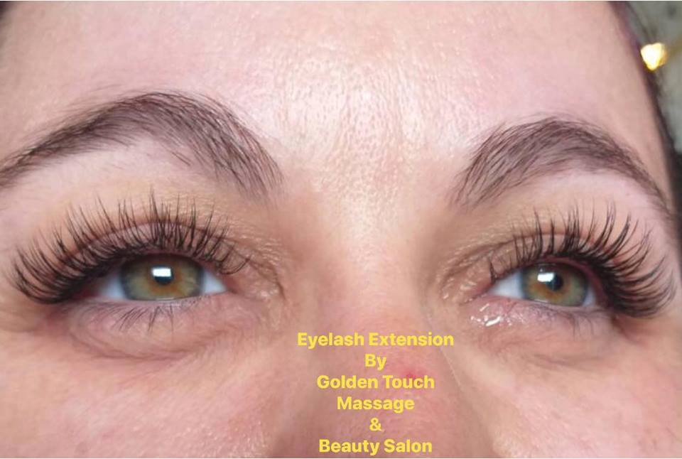 Eyelash Extensions at Golden Touch Massage 2
