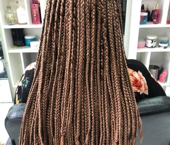 Hair braiding at golden touch 2