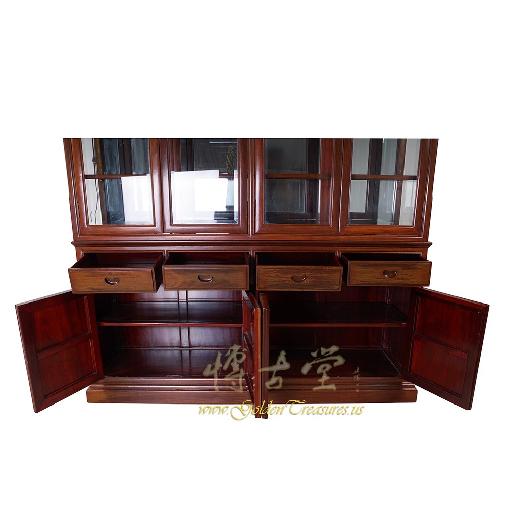 chinese rosewood dining table and chairs chair cover hire merseyside antique china cabinet 17lp22 antiques