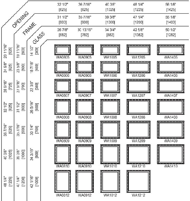 Standard Double Hung Window Sizes Home Design